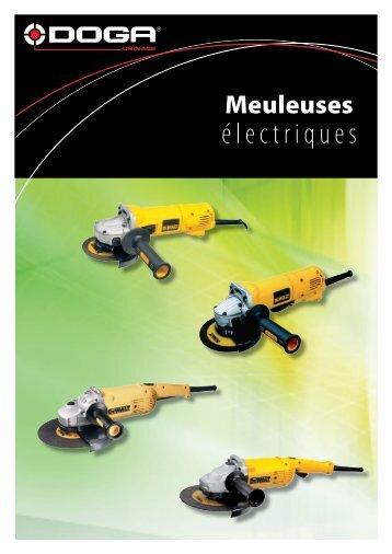 Meuleuses électriques diamètre 125 mm - Doga