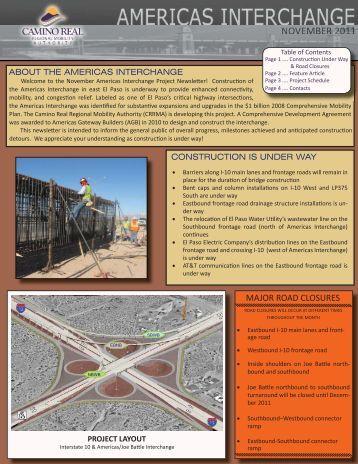 November 2011 Newsletter - CRRMA