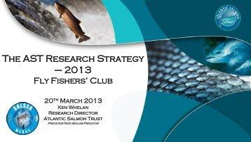Presentation at Flyfishers Club by Ken Whelan, March 2013