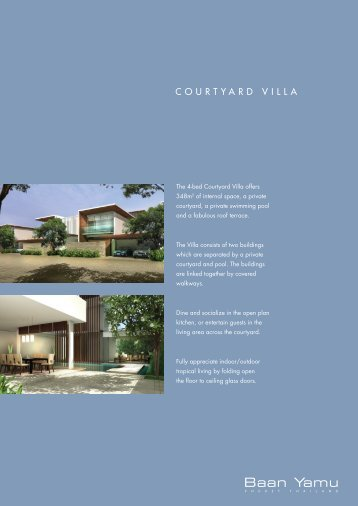 Courtyard Villa.indd - Asia Island Homes