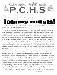 August 2007.pub - Pennington County Historical Society