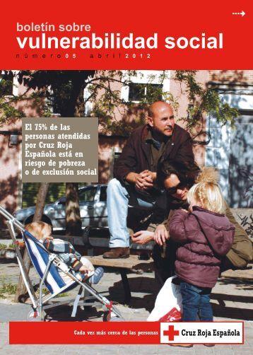 Boletín sobre Vulnerabilidad Social - Cruz Roja