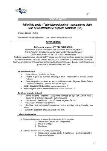 13671 offres d'emploi technicien polyvalent
