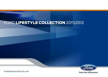 Katalog Ford Lifestyle Collection 2011/2012 - FORD Service