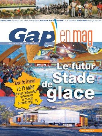 Gap en Mag 24X32 N°5 - 44pages - Ville de Gap