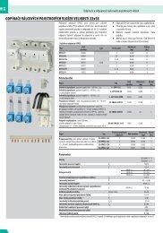 katalog ve formátu PDF (velikost 497 KB) - CEHA KDC elektro ks