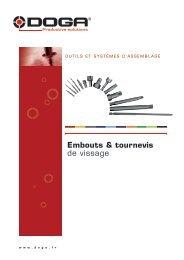 Embouts - hexagonal 1/4 - Doga