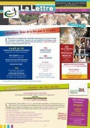 La République, Reine de la fête pour le 14 juillet - Mairie de Clapiers