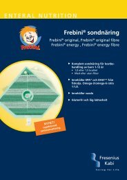 Frebini® sondnäring - Fresenius Kabi