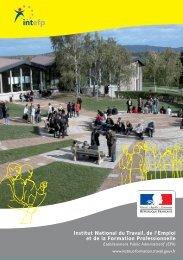 Institut National du Travail, de l'Emploi et de la Formation ...