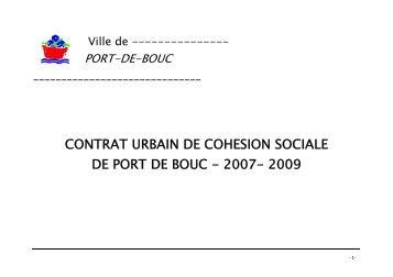 CONTRAT URBAIN DE COHESION SOCIALE DE ... - CRPV-PACA