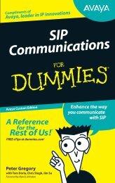 SIP for Dummies - Pennine Telecom