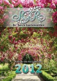 Garten- und Kulturreisen