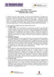 További részletek - Neumann János Középiskola és Kollégium