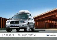 FORESTER PŘÍSLUŠENSTVÍ - Subaru