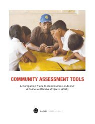 Community Assessment Tools
