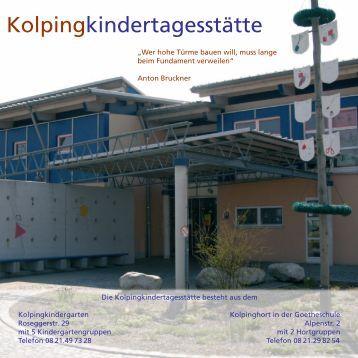 Entwurf Pädagogisches Konzept ... - Stadt Gersthofen