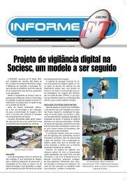 Projeto de vigilância digital na Sociesc, um modelo a ser ... - Grupo FT