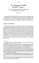 du XIIème siècle : - Société archéologique, historique et scientifique ...
