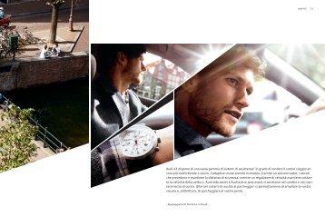Audi A3 dispone di una vasta gamma di sistemi di assistenza1 in ...