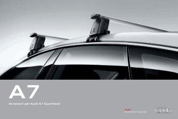 Accessori per Audi A7 Sportback