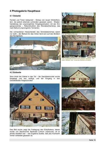 4 Photogalerie Haupthaus