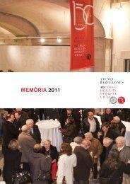 MEMÒRIA 2011 - Ateneu Barcelonès
