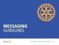 MESSAGING GUIDELINES
