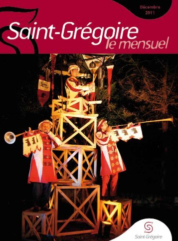 Saint-Grégoire, le Mensuel Décembre 2011