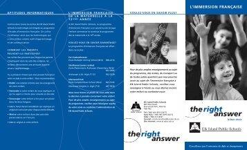 French brochure_fr.quark - École Campbelltown