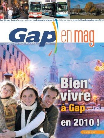 en un clic - Ville de Gap