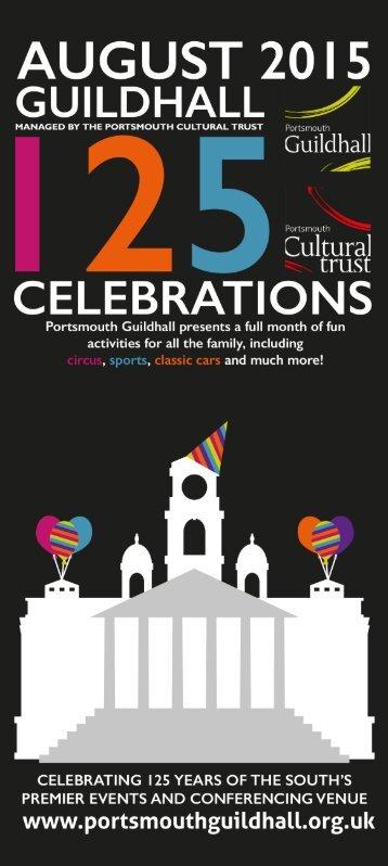 Portsmouth Guildhall's 125th Birthday Celebrations