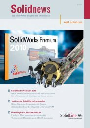 solutions - SolidLine AG