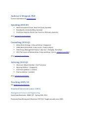 CV/Resume (PDF) - Andreas Weigend