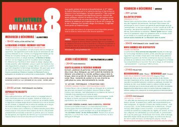 programme complet en pdf - Khiasma