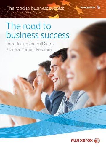 The road to business success - Fuji Xerox Printers