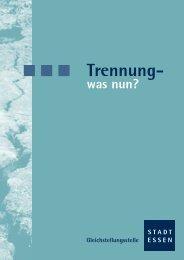 Trennung - Dr. Doering-Striening & Schwerdtfeger