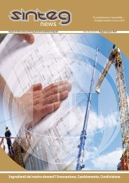 [PDF - 5.2 Mb] Sinteg News n° 2 / Anno 3 01/05/2013