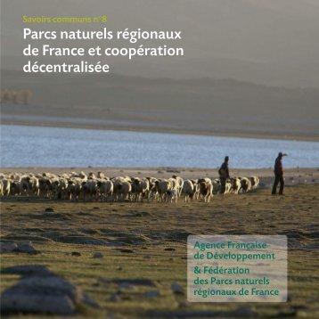 Parcs naturels régionaux de France et coopération décentralisée