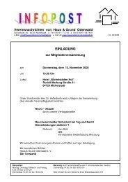 einladung - Haus und Grund Odenwald e. V.