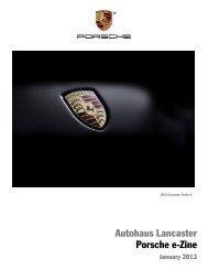 Autohaus Lancaster Porsche e-Zine