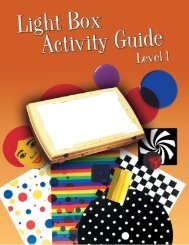 Light Box Activity Guide Level 1 - American Printing House for the ...