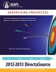 advertising contract • geaps 2012-2013 directasource