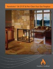 36 See Thru & Pier Brochure - Fireplaces