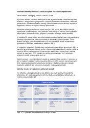 Střediska sdílených služeb – cesta k zvýšení výkonnosti ... - CFO Club