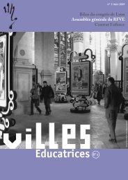 bulletin RFVE n°3 - mars 2007 - Réseau Français des Villes ...