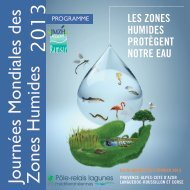 Programme des animations en Méditerranée 2013 - Pôle-relais ...