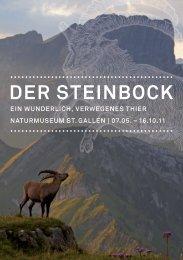 Steinbock.pdf - Informationen zu Natur, Jagd und Fischerei - Kanton ...
