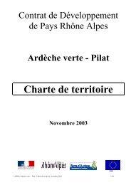 AXE 4 : Un pays, acteur de son progrès - Syndicat Mixte Ardèche Verte