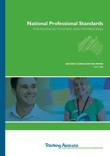 National Professional Standards - Australian Institute for Teaching ...